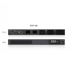 Delta STS 1UA 16A, Output 4xC13, 1xC19, Input 2xC20