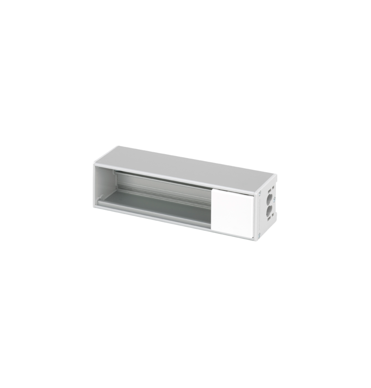 Perfil aluminnio OFIBLOCK Compact para mecanismos K45 SIMON