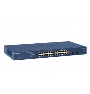 Switch ProSAFE 24 puertos Gigabit Ethernet & 2 puertos SFP Web Managed Netgear
