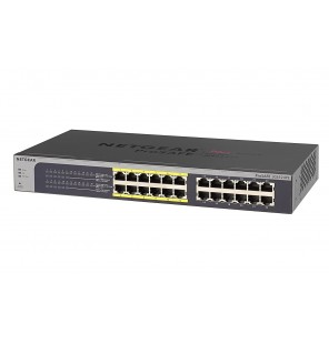 Switch 24 puertos Gigabit (12 puertos PoE 802.3af) Web Managed Netgear