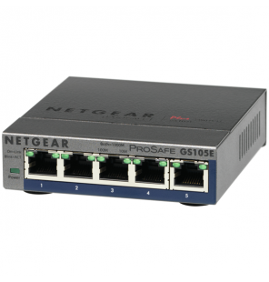 Switch Netgear 5 puertos Gigabit Web Managed