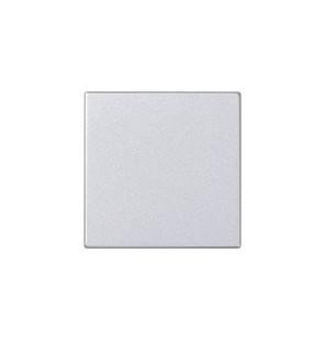 Placa ciega individual Simón 500 blanca