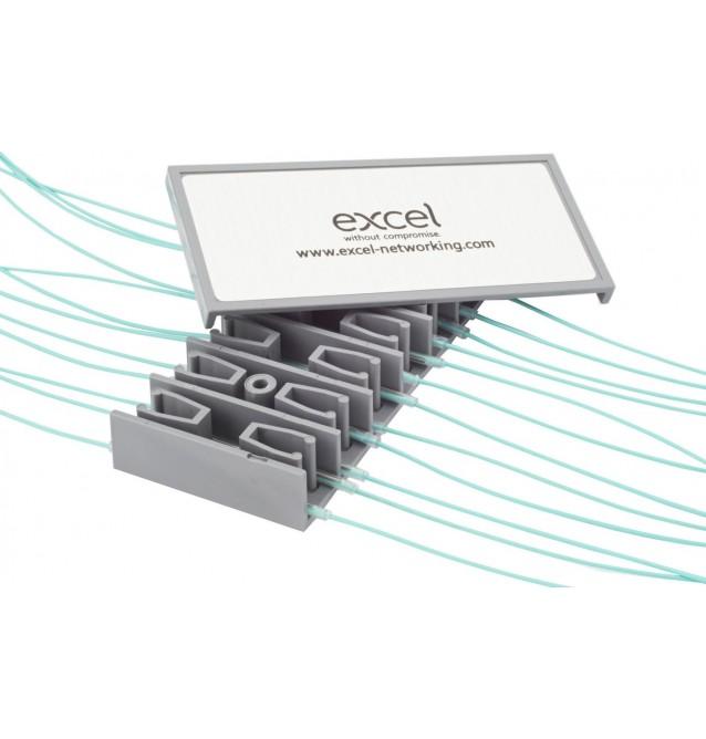 Peine porta-empalmes fusión 24 fibras con tapa Excel