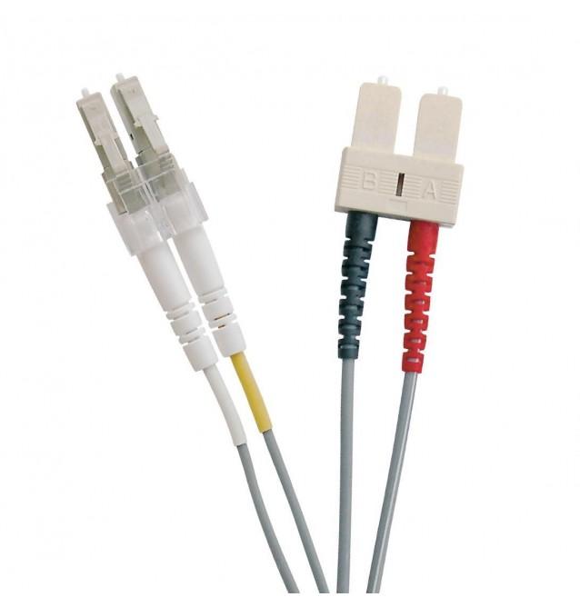 Latiguillo fibra óptica multimodo OM1 dúplex LC/SC