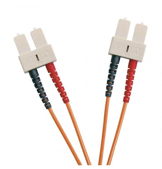 Latiguillo fibra óptica multimodo OM2 dúplex SC/SC
