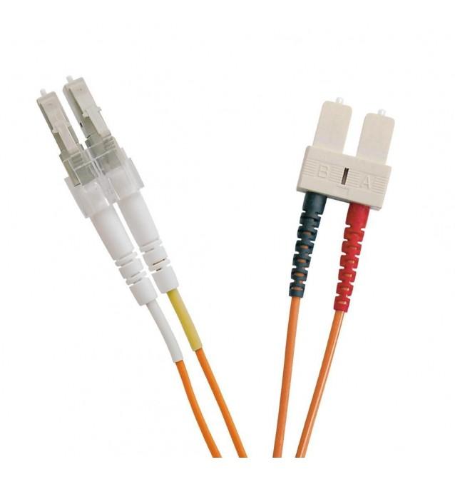 Latiguillo fibra óptica multimodo OM2 dúplex LC/SC