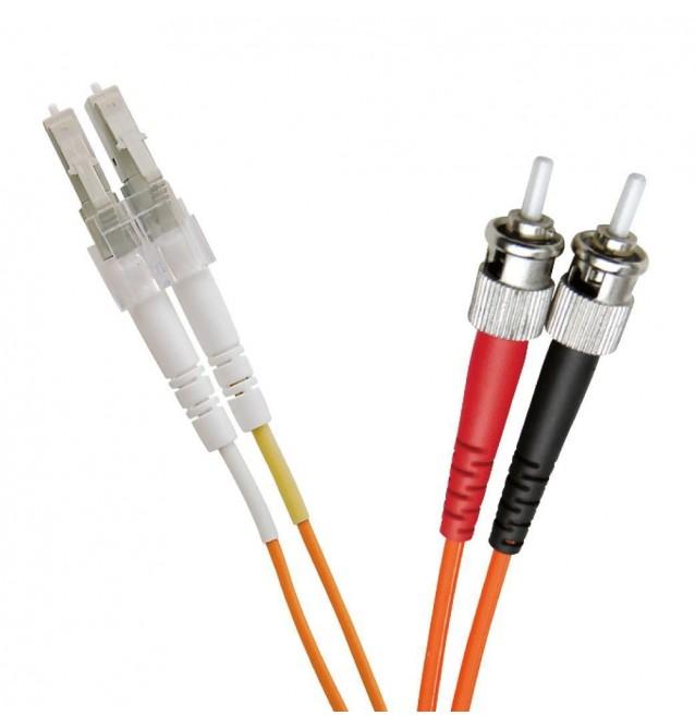 Latiguillo fibra óptica multimodo OM2 dúplex LC/ST