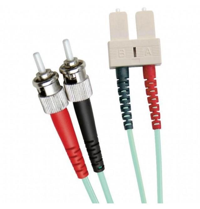 Latiguillo fibra óptica multimodo OM3 dúplex ST/SC