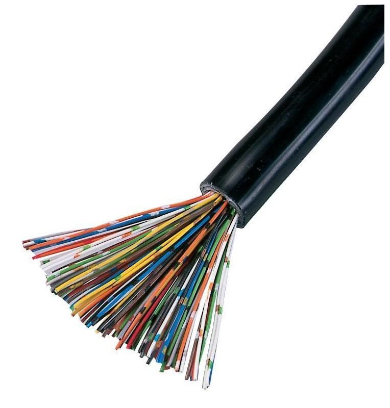 Cable telefónico 25 o 50 pares int/ext cubierta color Negro LSZH