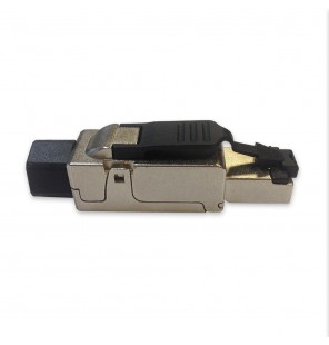 Conector macho RJ45 Cat.6A FTP