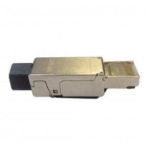 Conector macho RJ45 Cat.6A FTP