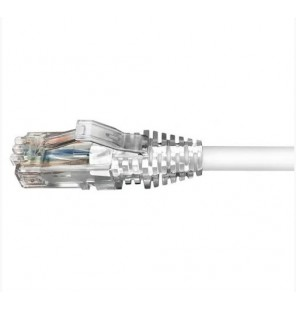 Latiguillo Cat6 UTP LSZH blanco. Commscope/AMP