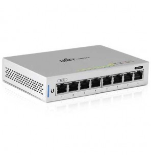 Unifi Managed 8xGigabit Switch PoE-In y 1 PoE Passthrough