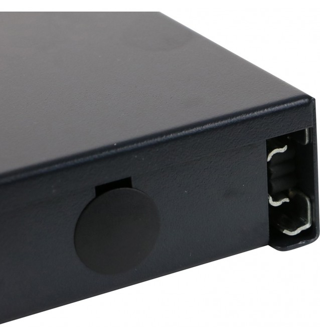 "Caja empalme FO rack 19"" 1UA vacía para 24 adaptadores SC's SIMPLEX / LC's DUPLEX. Excel"