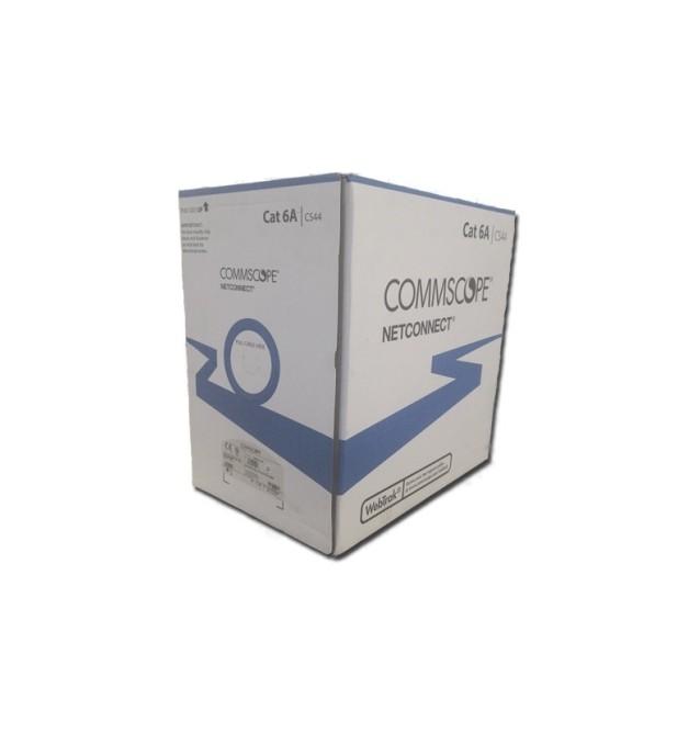 Cable UTP Cat.6A 4 pares LSZH CPR Dca ( Caja 305m) Color Blanco