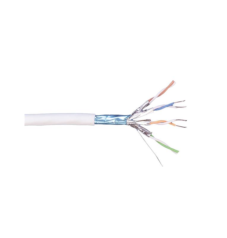 Bobina de cable Cat7 F/FTP LSZH 600Mhz color blanco ( 500 mts ) CPR Cca Commscope/AMP