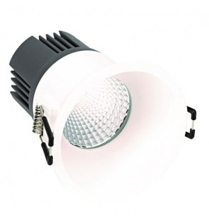 Downlight 703.21 NW Wide Flood 15w BL
