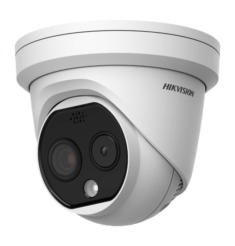Cámara mini Domo termográfica baja resolución 6 mm Hikvision