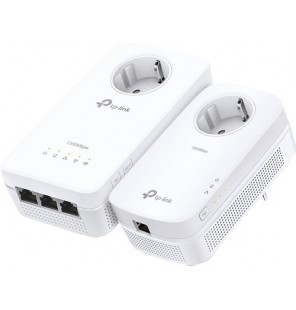 KIT Powerline Repetidor Wi-Fi AC Gigabit AV1300 con enchufe incorporado